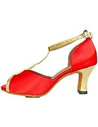 c172f371 LL De Las Mujeres Boca De Pescado Zapatos De Baile Latino Moda Coincidencia  De