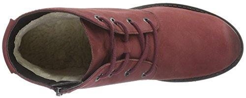 Caprice Damen 26257 Combat Boots Rot (Bordeaux Nubuc 545)