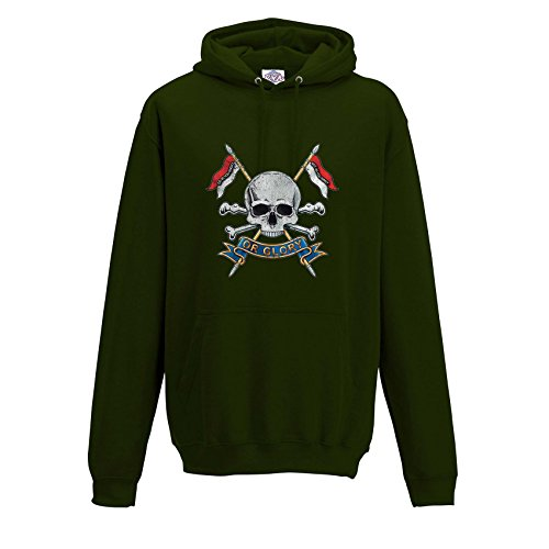 Blue Rock Unisex Printed Hoody Royal Lancers Do As You Ought Print MH1