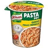 Knorr Pot Plato Preparado de Pasta y Queso a las Finas Hierbas - 80 gr