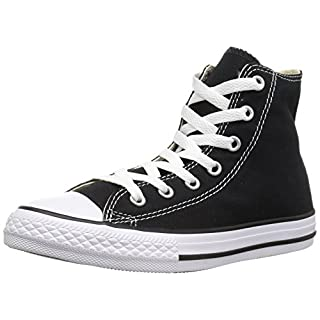 Converse Unisex-Adult Chuck Taylor All Star Hi-Top Trainers, Black- 7 UK