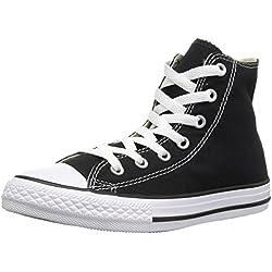 Converse All Star Hi Canvas, Sneaker, Unisex - Adulto, Nero (M9160 Schwarz), 39 EU