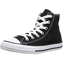 Converse Chuck Taylor All Star, Zapatillas altas Unisex adulto, Negro (Black), 37