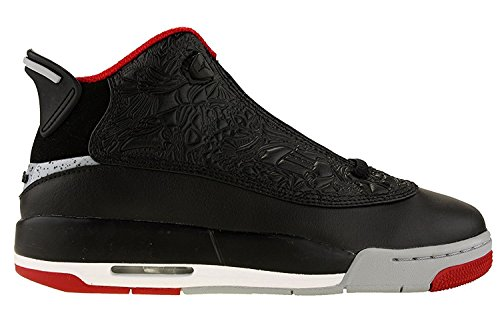 Jordan Nike Youth Air Dub Zero Boys Basketball Shoes Black/Gym Red/Wolf Grey 311047-013 Size 6.5 (Jungen Schuhe In Jordan Air)