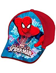 Disney ast1055Cap Front Print Spiderman