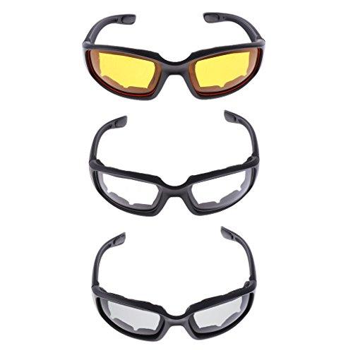 Baoblaze 3x Gafas Protectoras Accesorio Viaje Atividades
