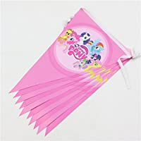 Brockhill Trading My Little Pony Party Bunting Banner 2.5 m Decoration