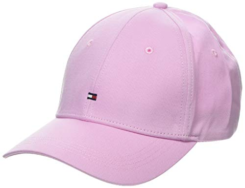 Tommy Hilfiger Damen Classic BB Baseball Cap, Violett (Pink Lavender 521), One Size (Herstellergröße: OS)