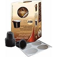 Capsul'In 100 Capsules vides compatibles Nespresso