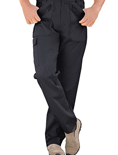 Mens Fully Lined Thermal Stretch Waist Action Trouser