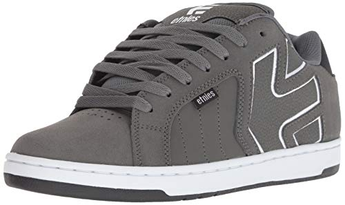 Etnies Fader 2, Chaussures de Skateboard Homme, Gris (Dark Grey/Black/White 029), 41 EU