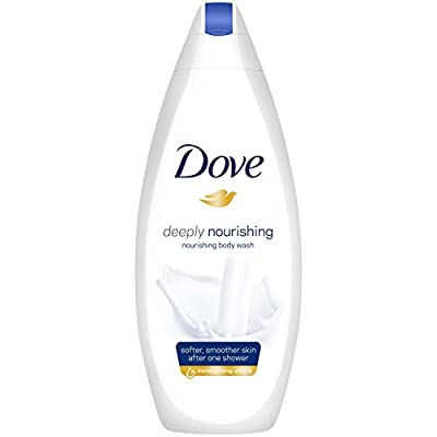 Dove Classic Beauty Collection Shampoo, Conditioner, Body Wash, Body Lotion, Body Creme and Puff 8 Piece Gift Set