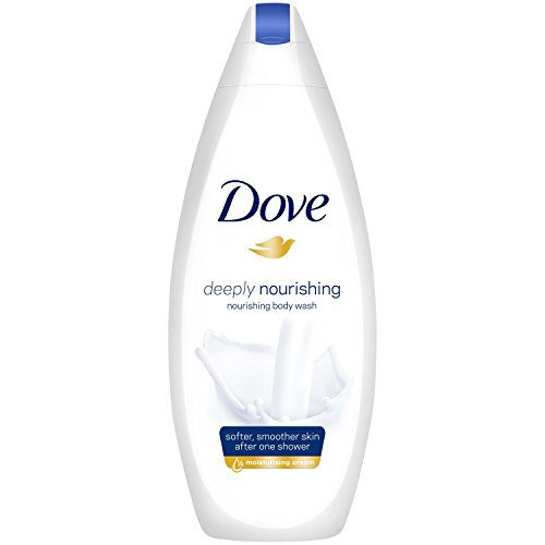 Dove  Classic Beauty Collection Women's Gift Set with Shampoo, Conditioner, Body Wash, Body Lotion, Body Creme and Puff - Gift Set for Her