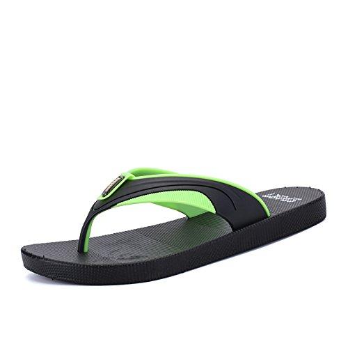 Antiscivolo Verde Pantofole Nere Preso Uomini Infradito Scarpe Spiaggia UZHTwTOq1x