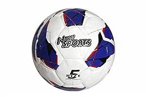VEDES Großhandel GmbH - Ware New Sports Fútbol Tamaño 5, sintética, Cosida a Mano, unaufgeblasen