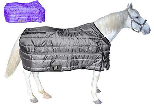 Derby Originals Windstorm Series Premium Pferdedecke mit 420D atmungsaktivem Nylon außen - mittelschweres 200 g Polyfil-Isolierung, Westen, Stil, 72