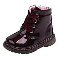 Baby Children Warm Boys Girls Martin Sneaker Boots Snow Baby Casual Shoes,12 Months-6 Years