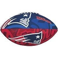 Wilson NFL Team Logo New England Patriots Junior Official, color blue/red