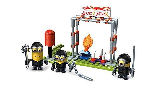 Mattel Mega Block Mega-Strax Minion's Ninja Training 82 Piece FND 05 Model Figure Kits at amazon