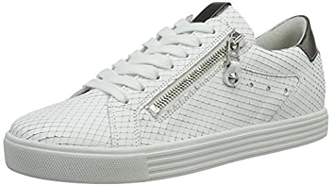 Kennel und Schmenger Schuhmanufaktur Damen Town Sneaker, Weiß (Bianco/Gunmetal Sohle Weiss), 39 EU