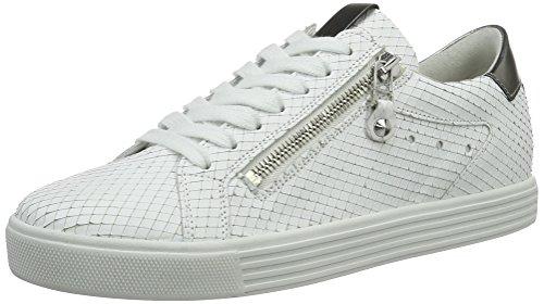 Kennel Et Schmenger Fabrique De Chaussures Town, Baskets Basse Donna Blanc (semelle Bianco / Gunmetal Blanc)