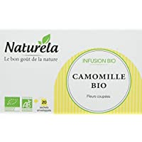 NATURELA Infusion Bio Camomille Infusettes 24 g - Pack de 10
