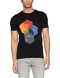 United Colors of Benetton Men's Printed Regular Fit T-Shirt