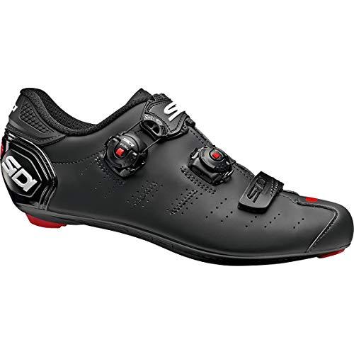 SIDI Ergo 5Carbon Road Scarpe da Ciclismo, Uomo, Matte Black/Black, 42