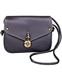 PU Leather Stylish Sling Bag / Purse For Women & Girls Color - Purple (1226)