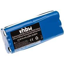 vhbw Batería NiMH 1500mAh (14.4V) para robot aspidador doméstico Dirt Devil Fusion M611