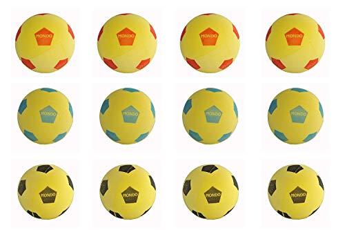 Mondo Set di 12 Calcio Palla di Spugna Softball 20 cm Diametro