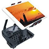 Kingwondo Teléfono Tablet Holder para DJI Mavic Pro Mando a distancia 4-12 pulgadas Soporte de extensión Soporte Drone Monitor Soporte piezas Accesorios Negro Rojo