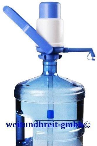 Rhino Junior Wasserpumpe manuell Pumpe Wasserspender mit Tragegriff + Luftfilter