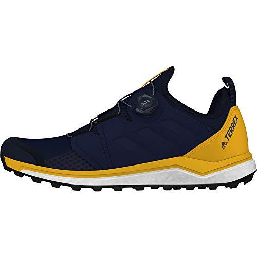 Herren-cross-trainer (adidas Herren Terrex Agravic Boa Cross-Trainer, Blau Collegiate Navy/Active Gold, 44 EU)