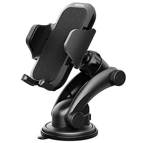 Mpow KFZ handyhalter Auto,Grip Pro 2 Armaturenbrett handyhalter Windschutzscheibe handyhalter,kfz Smartphone Halterung mit starkem klebrigem Gel Pad,handyhalter für Auto für iPhoneXS,Galaxy9 usw