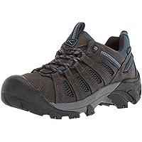 KEEN Men's Voyageur-M Hiking Shoe, Alcatraz/Legion Blue, 8.5 M US