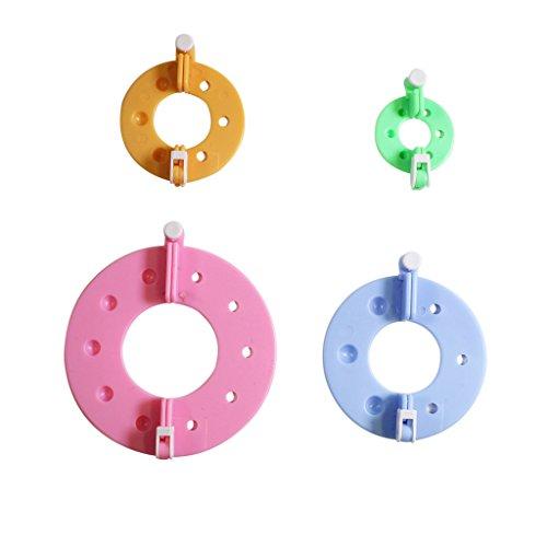 Tessitrice 8 pezzi essenziale 4 misure Pom Pom di CurtzyTM - All'uncinetto Palle