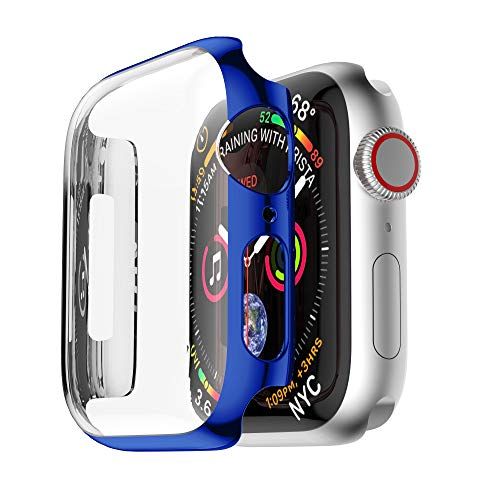 NotoCity Schutzhülle Kompatibel mit Apple Watch Series 4/Series 5 Ultradünne PC iwatch Hülle All-Around Displayschutz Apple Watch 4/Watch 5 Hülle