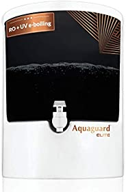 Eureka Forbes Aquaguard Elite (RO+UV+MTDS),8L with Active Copper Technology,7 stages of Purification (White &a