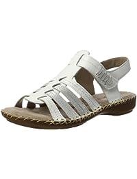 Jana Damen 28109 Offene Sandalen mit Keilabsatz