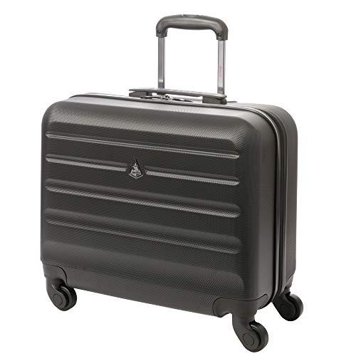 Aerolite trolley borsa valigia porta pc per 15,6 pollici laptop computer portatile bagaglio a mano cabina rotolamento rigido su 4 ruote