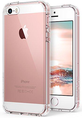 Ringke iPhone SE / 5S / 5 Hülle, Fusion kristallklarer PC TPU Dämpfer (Fall geschützt/Schock Absorbtions-Technologie) für Das Apple iPhone SE / 5S / 5 - kristallklarer