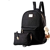 Trendy Backpack 2 Pieces Set for Women and Girls Travel bag
