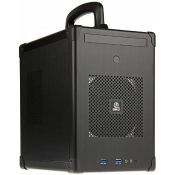 Lian Li PC-TU100 - computer cases (Midi-Tower, PC, 1x 120 mm, Aluminium, Mini-DTX, Mini-ITX, Black)
