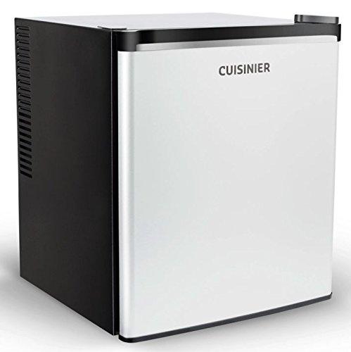 Cuisinier 38 Liter Null DB-lautloser Mini Kühlschrank Minibar geräuchloser Hotelkühlschrank [Energieklasse B]