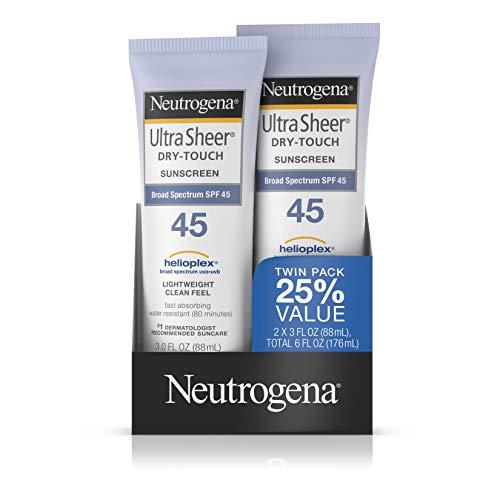 Neutrogena Ultra Sheer SPF 45 Twin Pack 89 ml (Sonnenschutz) -