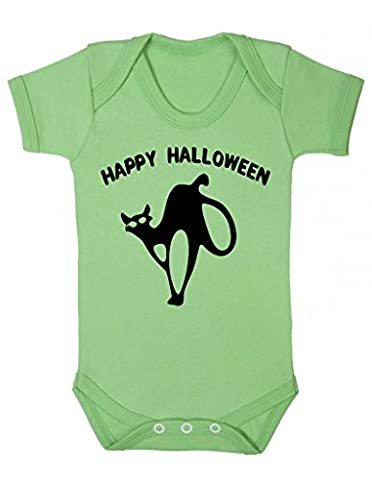 Infant Costumes Boy Halloween 0 3 Mois - Happy Halloween Creepy Halloween chat Body bébé