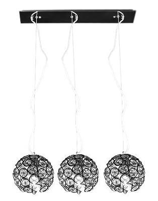 [lux.pro] Moderne Kugel Kristall Deckenleuchte Lüster Hängeleuchte 3-flammig Kronleuchter von Luxpro bei Lampenhans.de