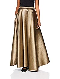 Rajesh Pratap Women's A-Line Maxi Skirt
