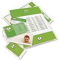 GBC 3740482 Pouch per Plastificazione Documenti A4, 2 x 125 Mic, Confezione da 25, Lucide